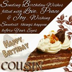 happy birthday dear cousin wishbirthday com