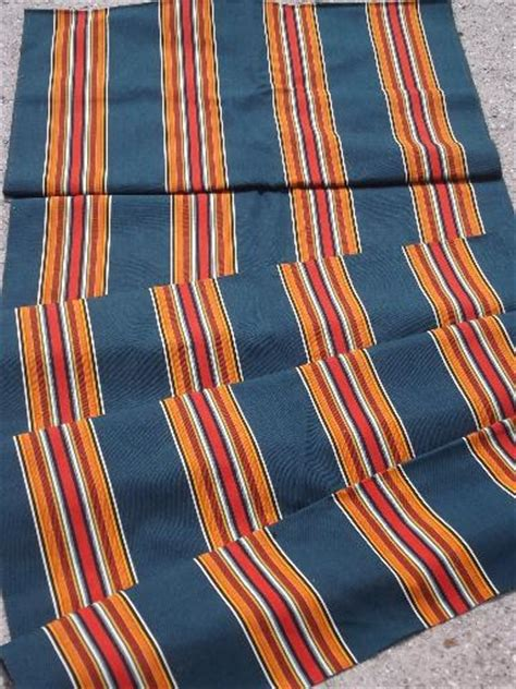 Canvas Awning Material by Vintage C Awning Stripe Cotton Canvas Fabric For Lawn