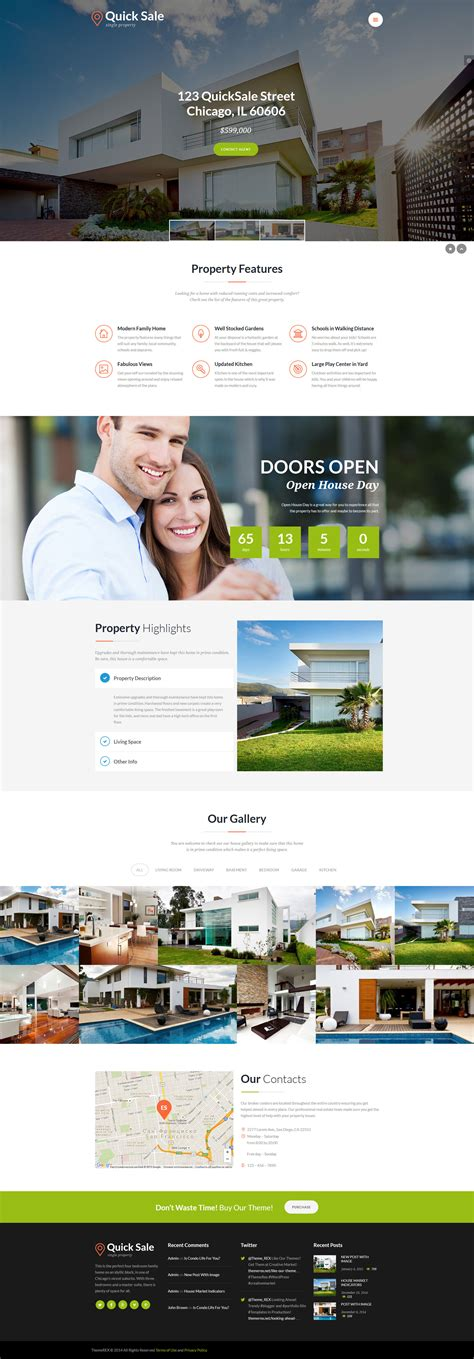 html themes for sale quick sale real estate html theme by themerex themeforest