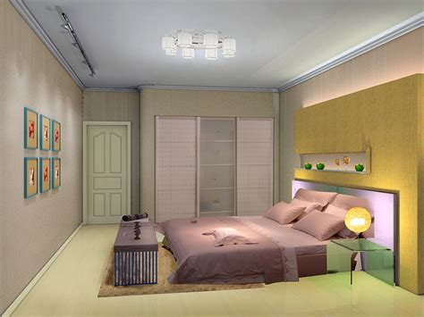 3d Interior Design Bedroom By Yuanzhong On Deviantart Bedroom 3d Design