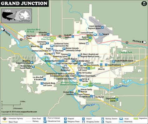 usa grand map grand junction map map of grand junction colorado