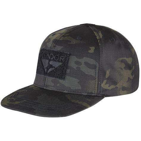 Snapback Black Snapback Army Condor Flat Bill Snapback Cap Multicam Black Baseball