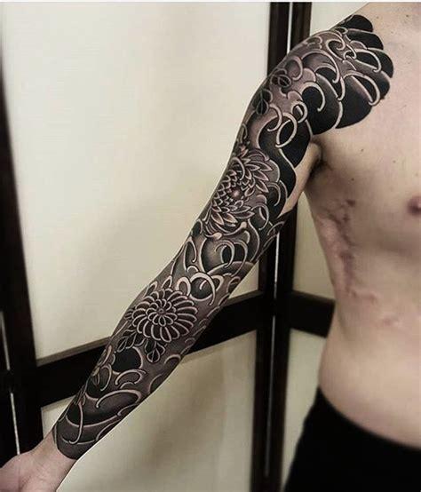 traditional black and grey japanese tattoo sleeve tattoo japanese best tattoo ideas gallery