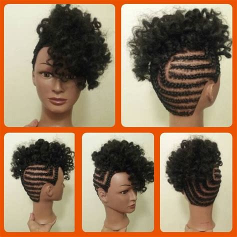 updo hairstyles with crochet braids 1000 images about hair on pinterest black women natural