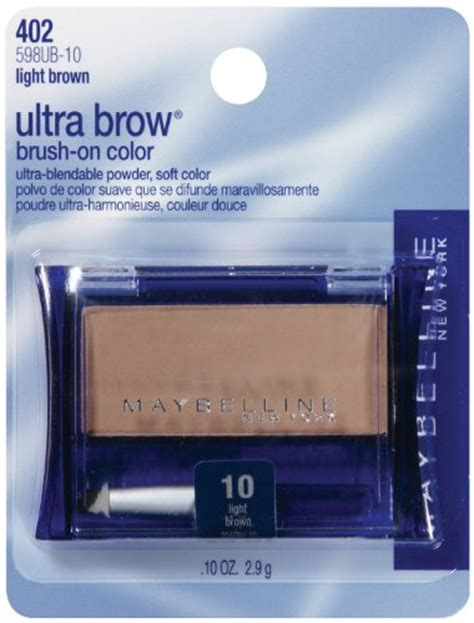 Maybelline Fashion Brow Ultra Fluffy maybelline new york ultra brow brow powder shade 10