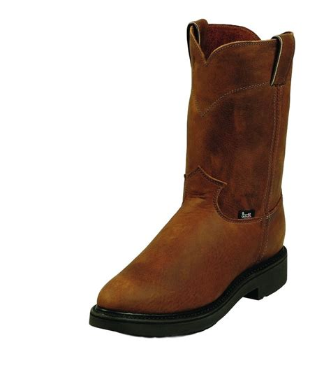 justin double comfort boots justin work boots mens double comfort round toe western
