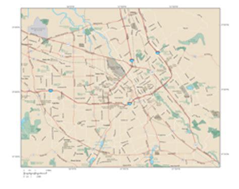 san jose msa map san jose metro area wall map by map resources