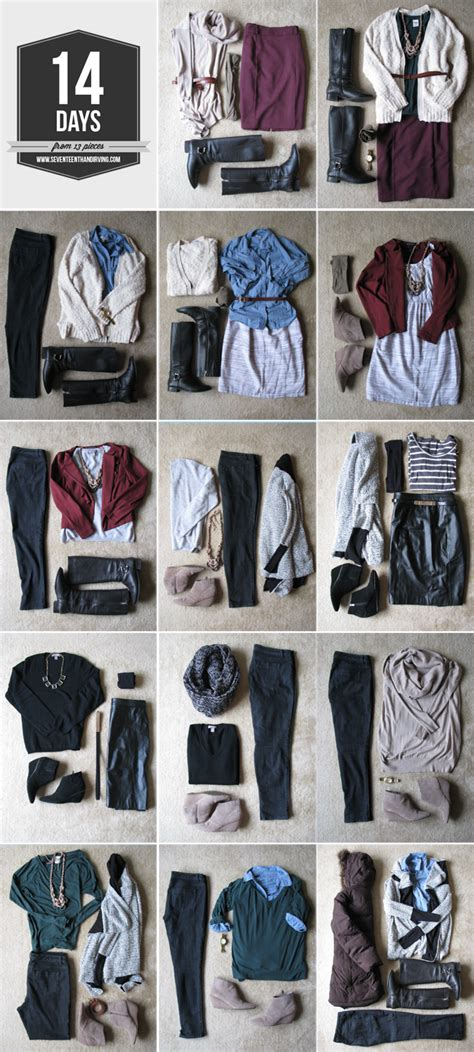 How To Pack Light For A Week by Seventeenth Irving Travel Light During The Winter