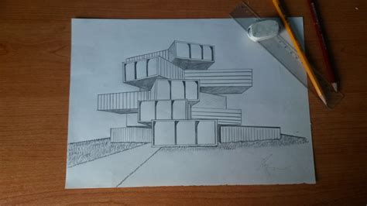 modern house drawing how to draw a modern house i hd i