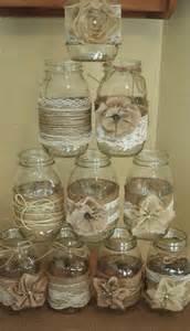 Burlap Wedding Decorations For Sale Set Of 10 Mason Jar Sleeves Burlap Wedding Decorations