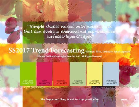 trending colors spring 2017 ss2017 trend forecasting on behance