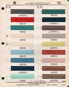 Paint Chips 1958 Edsel