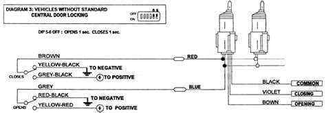 door lock actuator wiring diagram 33 wiring diagram