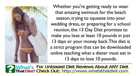 13 Signs Your Diet Isnt Working by 13 Day Diet Plan Review