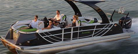 tritoon boat with twin 300 5 rocket fast pontoon boats boats