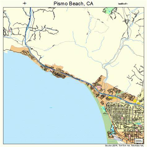 pismo california map pismo california map 0657414