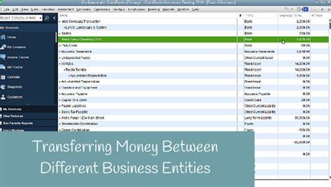transferring funds between bank accounts quickbooks desktop candus kfer