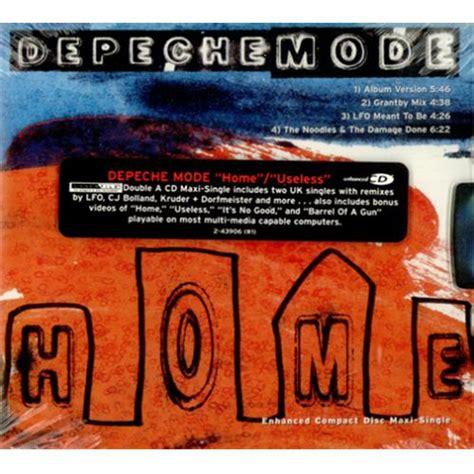 depeche mode home useless usa 2 cd album set cd