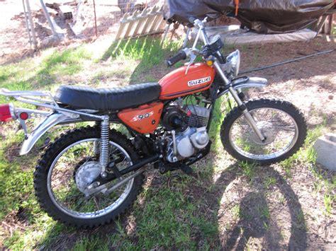 Suzuki Road Trail Bikes Oldmotodude 1971 Suzuki Tc90 Trail Bike Sold It For 100