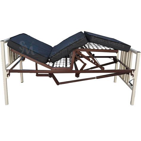 venta camas de hospital cama para hospital manual con colchon seccionado