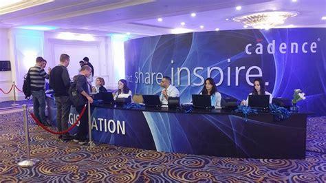 conference registration desks