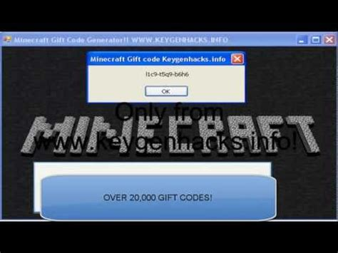 Minecraft Gift Card Code Generator No Survey - december 2012 minecraft gift code generator free and legit no survey picture to pin on