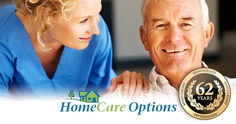 homecare options celebrates 62 years of service