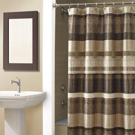 bronze shower curtains portland shower curtain croscillsocial bronze stripes
