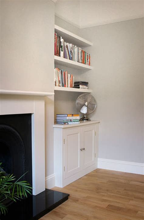 Fireplace Alcove Shelving alcove cupboards shelves carpentry joinery in