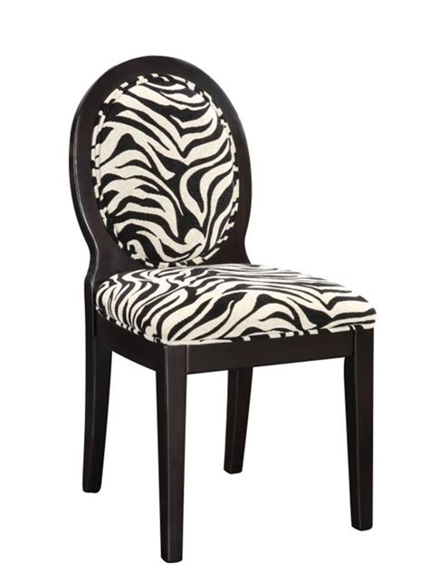 Zebra Print Dining Chairs Zebra Accent Chair Zebra Occasional Chair Zebra Side Chairs Zebra Bar Stools Home