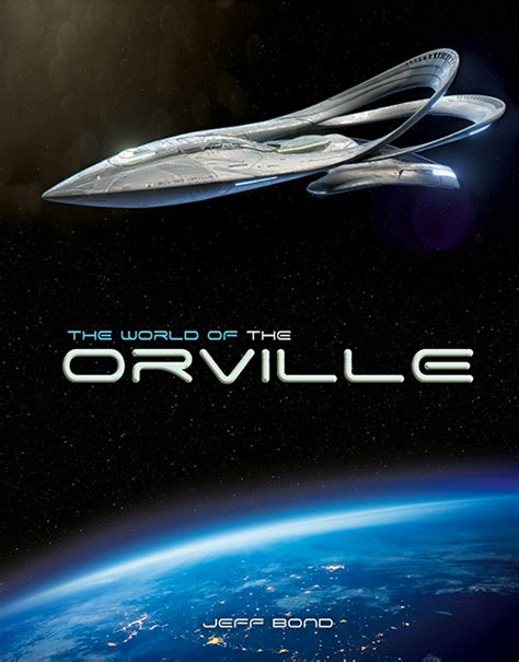 the world of the orville books titan books announcement the world of the orville