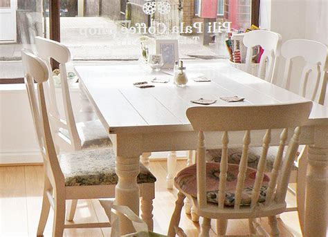 White Farmhouse Table And Chairs by White Farmhouse Table With Chairs For The Home