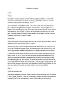Christopher Columbus Or Villain Essay by Buy Research Paper Christopher Columbus Was A Murderer Musicdissertation Web Fc2