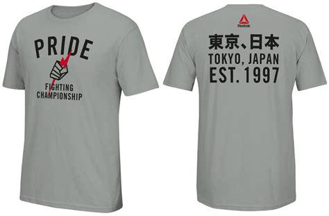 Kaostshirt Pride Mma Ufc ufc reebok tokyo pride shirt