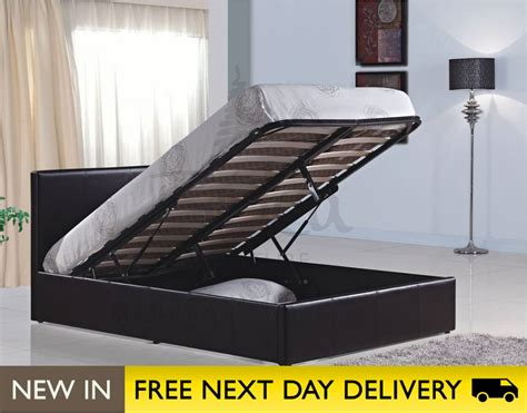 4 foot ottoman bed home decorating pictures 4ft leather bed
