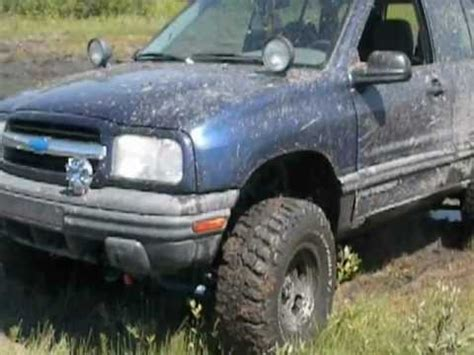 chevy tracker off road off road tracker youtube