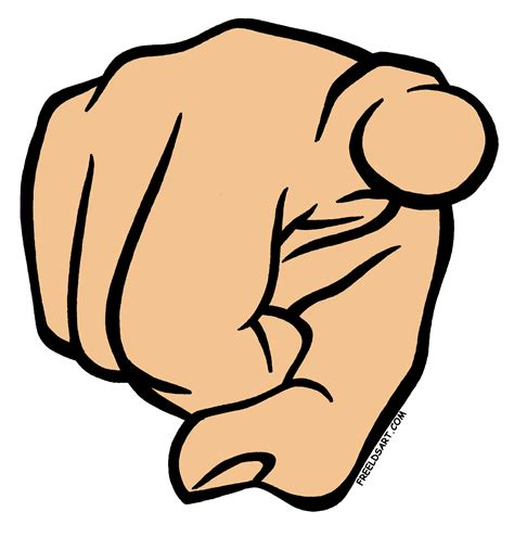 pointing finger clipart pointing finger clip cliparts co