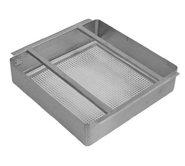 grease trap with removable baffle made carbon steel by harbour food service equipment