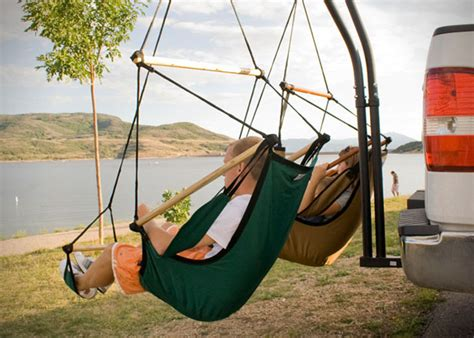 swing trailer hitch trailer hitch hammock chair by hammaka hiconsumption