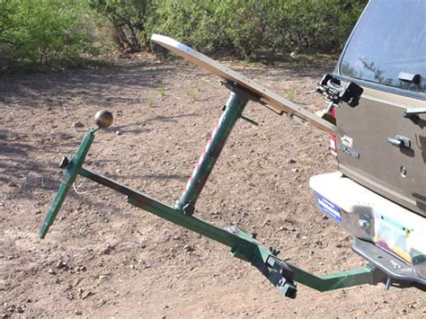 hitch mounted shooting bench rsi large shooting projects