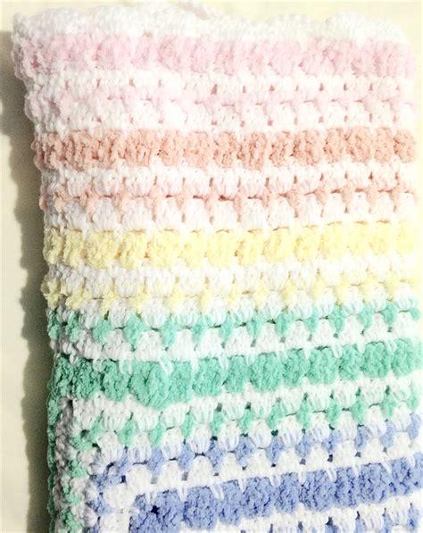 Chenille Baby Blanket Pattern by Crochet Chenille Baby Blanket Pattern Pakbit For