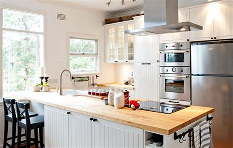 wooden bench tops kitchen open plan kitchen design realestate com au