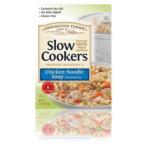 orrington farms chicken noodle soup seasoning