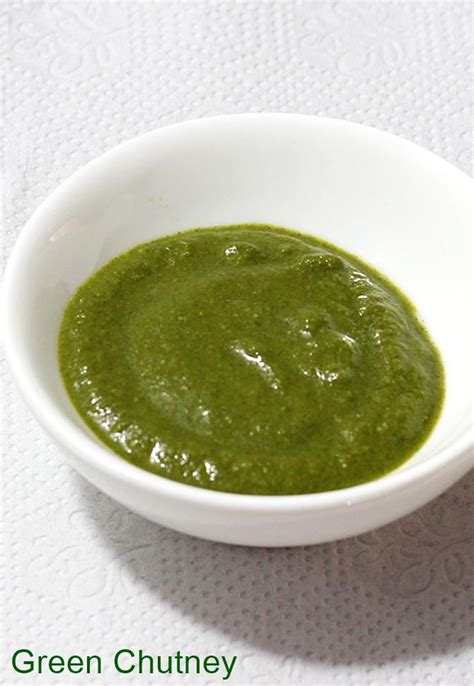 Indian Green by Green Chutney Recipe How To Make Green Chutney Recipe