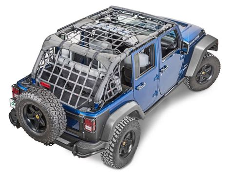 Jeep Wrangler Cargo Net Rugged Ridge 13552 71 Rugged Ridge Cargo Net For 07 16