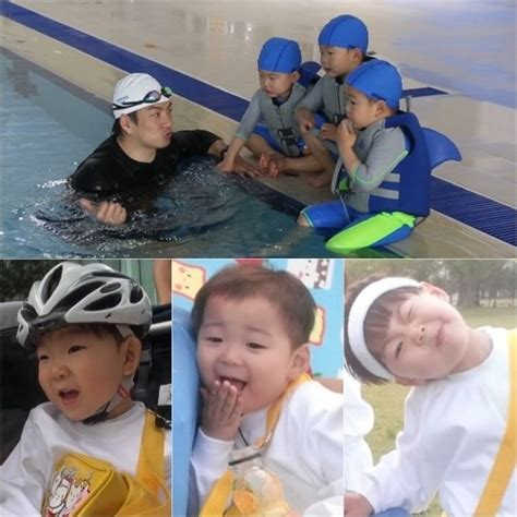 if the superman returns song triplets signed with sm yg song triplets become super athletes for triathlon on