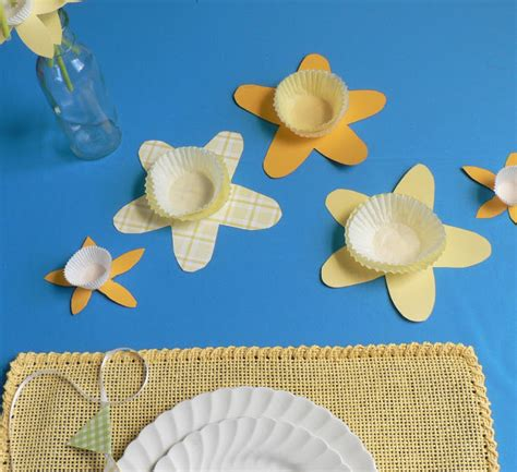 daffodil paper flower pattern how to paper daffodil straws bless this mess