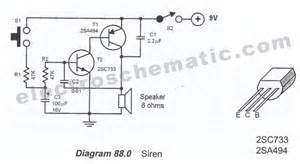 simple siren circuit