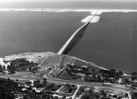 Santa Rosa County Florida Court Records Florida Memory Aerial View Of Navarre Bridge And The Causeway Santa Rosa County