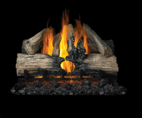 Vented Gas Log Fireplace by Napoleon 32 Quot Reversible Gas Vented Gas Log Set